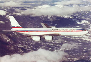 Air Force One 707 Simulator Project - 707 History